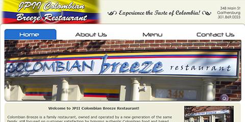 JPII Colombian Breeze Restaurant